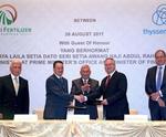 Thyssenkrupp wins major Brunei fertiliser plant EPC order