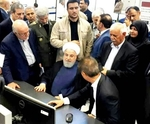 Iranian President Hassan Rouhani unveils three mega petrochemical projects in Asaluyeh