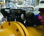 Easier pipeline flange assembly and maintenance reduces plant downtime