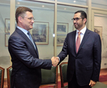 ADNOC Group CEO meets Russian energy minister during visit to Moscow