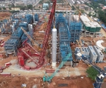 Mammoet successfully lifts five major components for Visakh refinery modernisation project