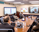 Saudi Aramco CEO pays digital visit to students around the world