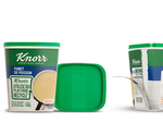 SABIC's certified circular PP copolymer selected for Unilever's Knorr bouillon powder containers