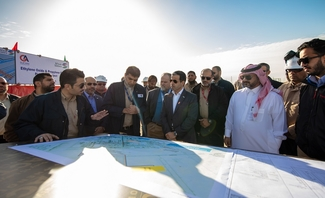 Sadara breaks ground on ethylene oxide and propylene oxide pipeline project at PlasChem Park