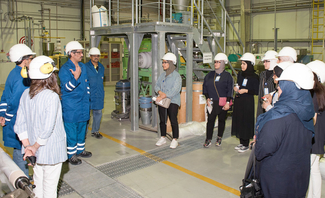 Image of the day: EQUATE hosts Kuwait University, College of Engineering, students