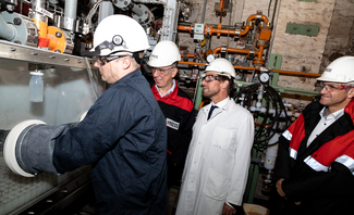 One hundred and twenty-five years young: LANXESS sulphuric acid plant celebrates its birthday