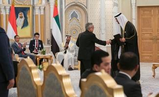 HH Sheikh Mohamed bin Zayed, Indonesian President Joko Widodo witness exchange of signed energy agreements between ADNOC, Pertamina and Chandra Asri