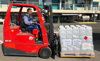 BASF Personal Care donates hand sanitisers at European sites
