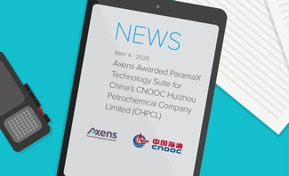Axens' ParamaX Technology Suite selected by China's CNOOC Huizhou Petrochemical Company