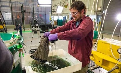 Gallery: Oleo Sponge a key solution for oil spills