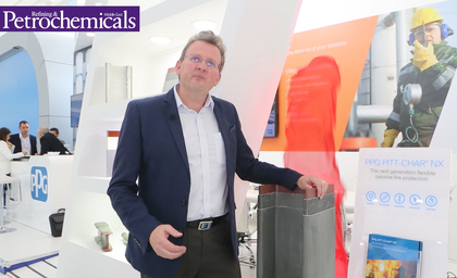 Video: Richard Holliday, global director, Hydrocarbon PFP, PPG Industries, on PITT-CHAR NX Passive Fire Protection Coating