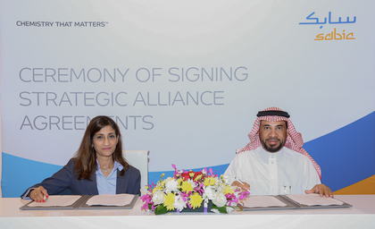 Emerson, SABIC ink seven-year strategic alliance