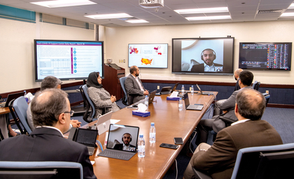 Saudi Aramco CEO pays digital visit to students around the world
