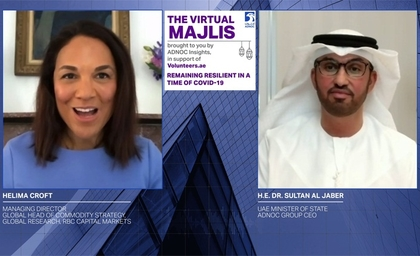 The UAE's forward-looking guidance directing ADNOC's 4-year transformation has increased the company's resilience and agility, says ADNOC CEO