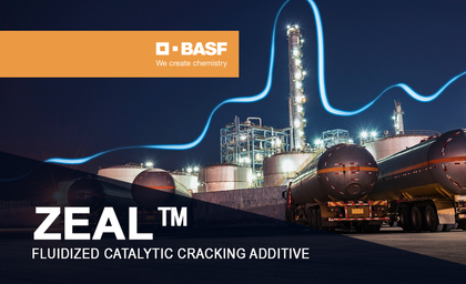 BASF unveils ZEAL fluidised catalytic cracking additive to deliver more propylene for refiners