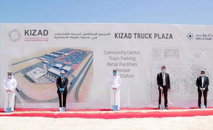 KIZAD breaks ground onthe  largest rest, refuelling facility in the region