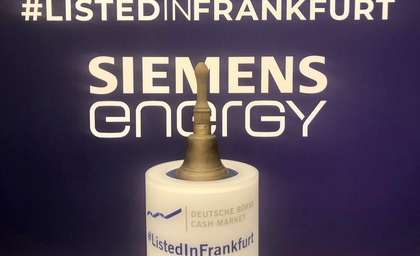 Siemens Energy's debut on the stock market