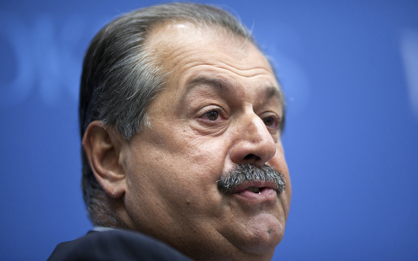Andrew N. Liveris, Dow's chairman and chief executive officer.