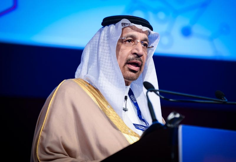 Khalid Al Falih, Saudi Arabias Energy Minister.