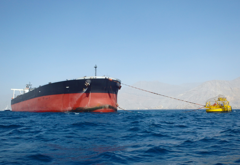 Oman Oil has shipped first crude processed at Musandam gas plant.