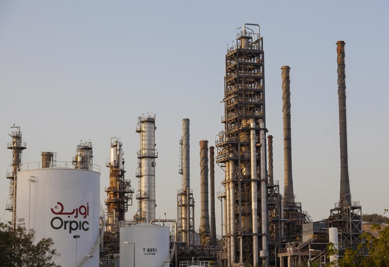 Mina Al Fahal refinery of Oman Oil Refineries and Petroleum Industries Company.