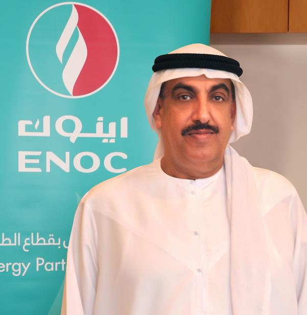 ENOC CEO Saif Humaid Al Falasi.