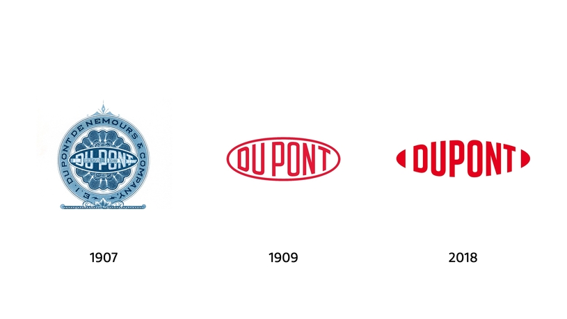 The new logo of DuPont preserves the legacy shape of the iconic DuPont oval, but it will no longer be constrained by an elliptical border – signalling a collaborative and open flow of ideas and innovation.
