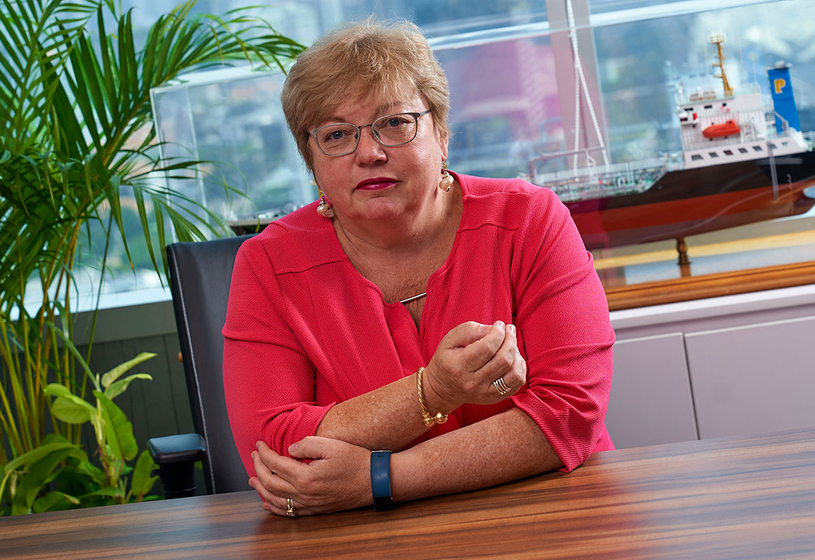 Gina Fyffe, CEO, Integra Petrochemicals.