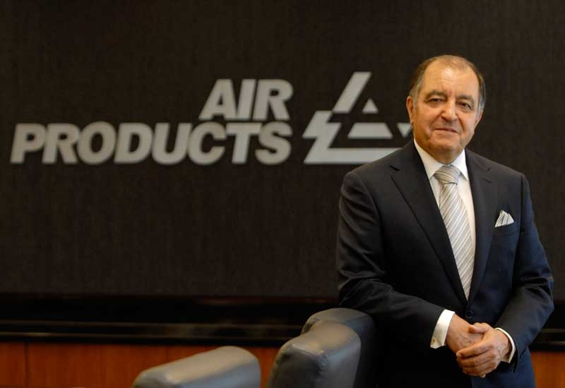 Seifi Ghasemi, chairman, president and CEO of Air Products.