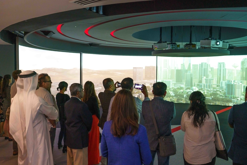Official opening of the Honeywell Technology Experience Center in Dubai.