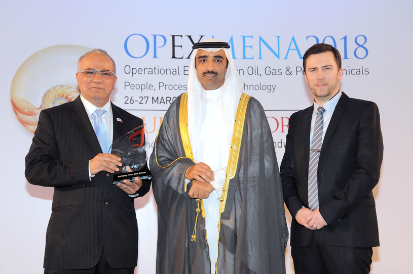 Aluminium Bahrain received the GSF Safety Award in 2018.
