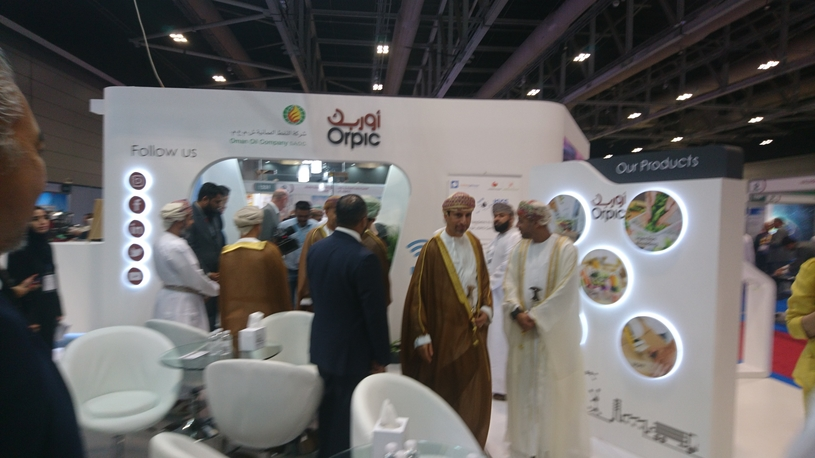 Oman Oil and Orpic Group busy with downstream industry leaders at ODEC 2019.