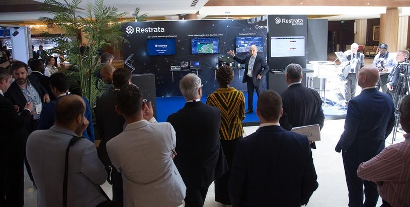 Botan Osman, CEO, Restrata, gives a demo of the Restrata platform.