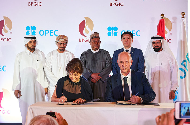 BPGIC hosted on 16 September 2018 an evening gala and signing ceremony in Dubai to mark the initiation of the construction of the expansion of its storage terminal in the emirate of Fujairah. The evening gala held at the Dubai Opera House organised by BPGIC attracted many notable dignitaries and influential members of the oil and gas industry, including Mohammed Barkindo, the secretary general of OPEC, and officials from the UAE Ministry of Energy and Industry, country ambassadors, the executive chairman of Audex, a leading Singaporean EPC company and the awarded contractor for the project, as well as many other high-profile individuals from the oil and gas industry. At the event, Nicolaas Paardenkooper, BPGIC CEO, and chairperson of Audex, Edna Ko, signed the EPC contract that officially marks the start of the project. (Image for representation purpose only)