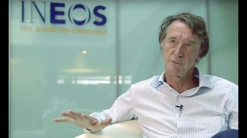 Sir Jim Ratcliffe, chairman of INEOS.