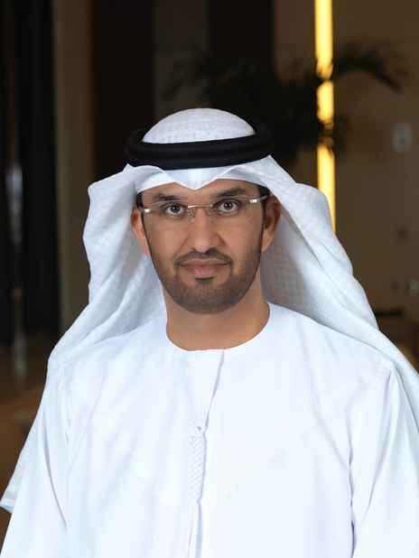 Dr Sultan Ahmed Al Jaber, UAE minister of state and ADNOC Group CEO.