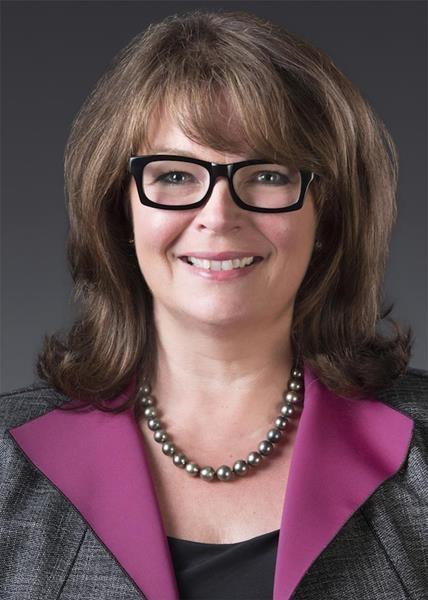 Laura Schwinn, president, Grace's specialty catalysts business.