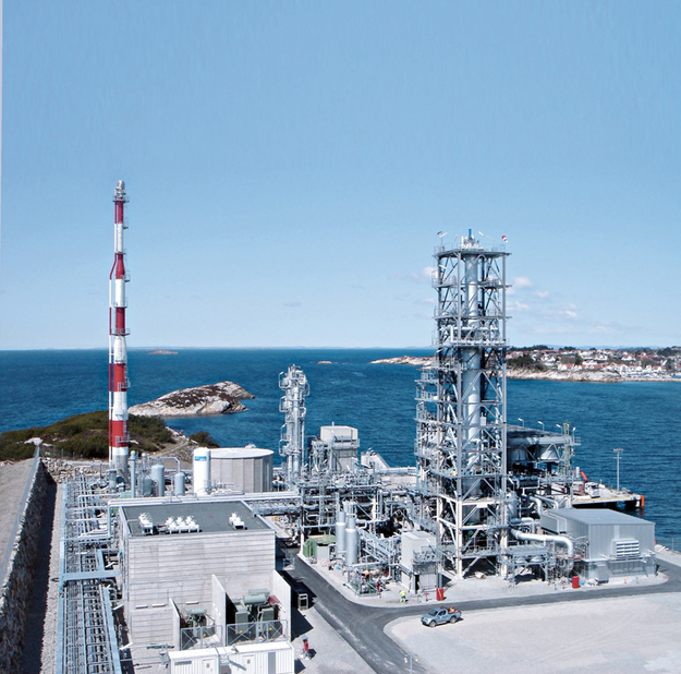 BASF is now able to provide the complete LNG pre-treatment package. (Image for illustration only)