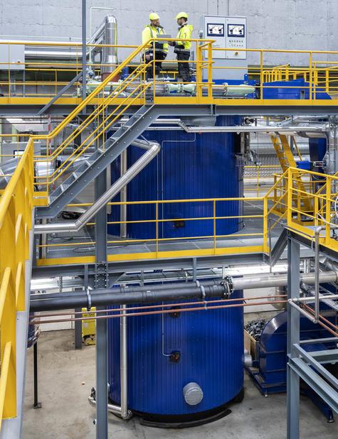 Aalborg OL Multi-fuel in Alfa Laval Test and Training Centre.