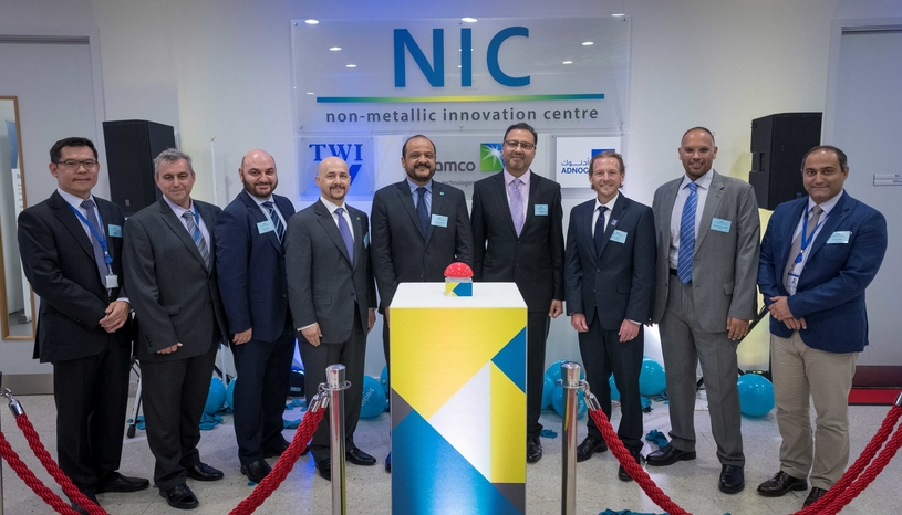 Official opening of the Non-metallic Innovation Center in Cambridge in the United Kingdom.