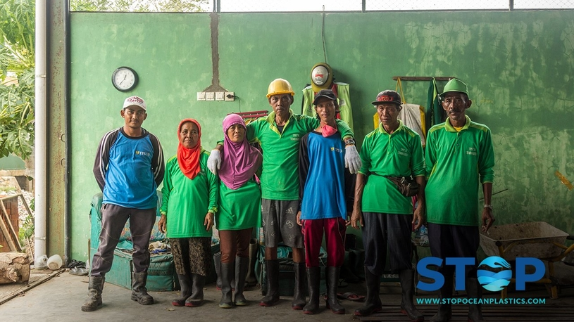 Through their participation in Project STOP over the next three years, the alliance aims to make a positive contribution to improving waste management in Jembrana and enhancing the livelihoods and development of the community. (Image courtesy: Alliance To End Plastic Waste Twitter handle)