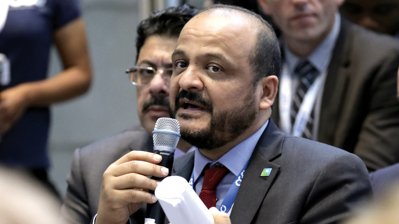 """""""We are committed to helping to meet society's lower carbon goals while reliably meeting the energy needs of billions of people for decades to come,"""" said Saudi Aramco chief technology officer Ahmad O Al-Khowaiter."""