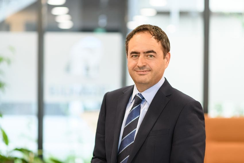Jon Rokk, the newly appointed president and CEO of the engineering and maintenance division of Bilfinger in the Middle East.