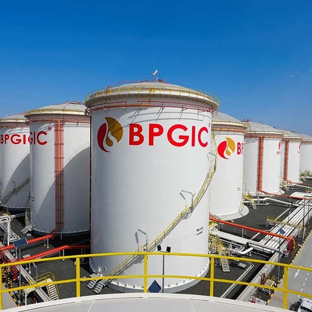 BPGIC's initial studies indicate that the land could house up to approximately 3.5 million cubic metres of storage tanks and, potentially, a refinery with a capacity of up to 180,000bpd.