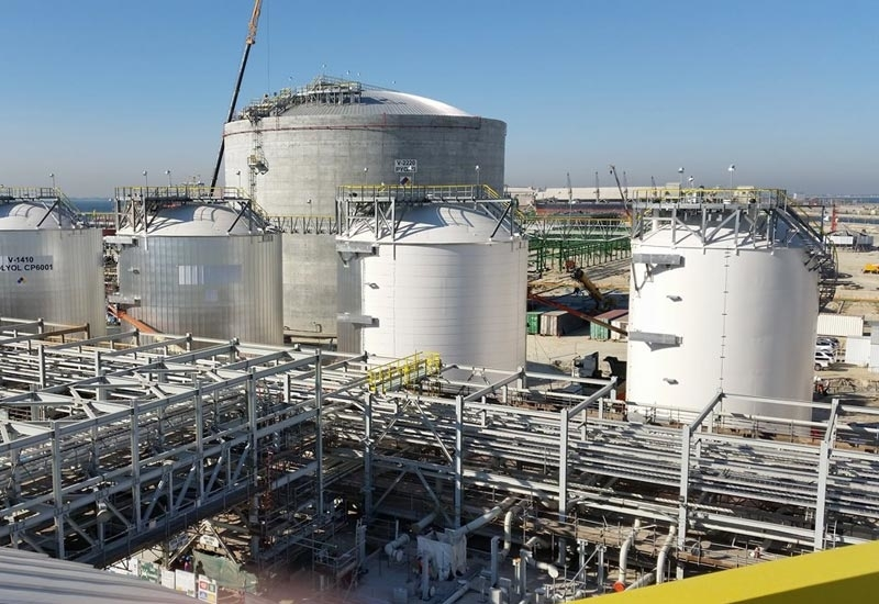 The scope of the project includes the EPFC of six floating roof crude oil tanks – four with a 500,000-barrel capacity each and two with a 250,000-barrel capacity each. (Image courtesy: CB&I; image for illustration only)
