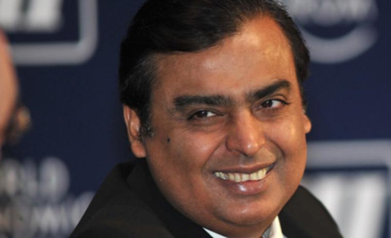 Mukesh Dhirubhai Ambani is the chairman and managing director of Reliance Industries Ltd.
