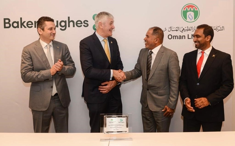 Oman LNG and Baker Hughes will undertake a major debottlenecking project for three trains at Oman LNG's plant, to accommodate any potential increase in feed gas volumes.