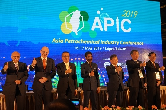 Industry executives at the 2019 Asia Petrochemical Industry Conference (APIC) in Taipei. (Photo by Nurluqman Suratman; Image courtesy: ICIS))