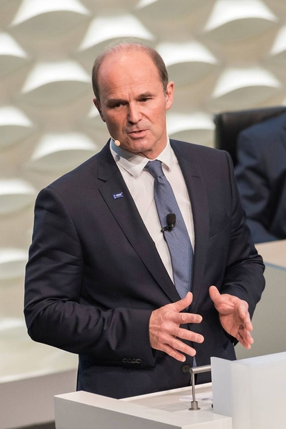 Martin Brudermüller, chairman of the board of executive directors and chief technology officer of BASF.