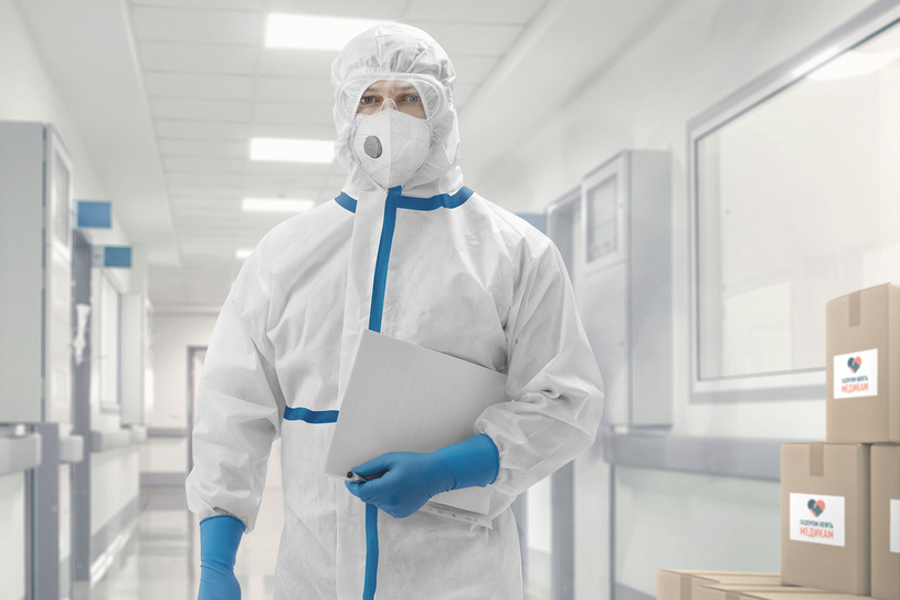 Gazprom Neft has sent more than one million pieces of cutting-edge, medical PPE to Omsk Region, in total.